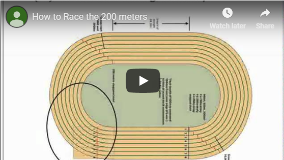 200 Meter Strategy - Track and Field ToolboxTrack and Field Toolbox